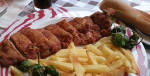 Cachopo de la Sidrería Nava - Apto para celíacos en Asturias