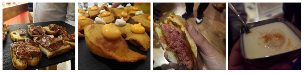 Cata de platos en el Naguar