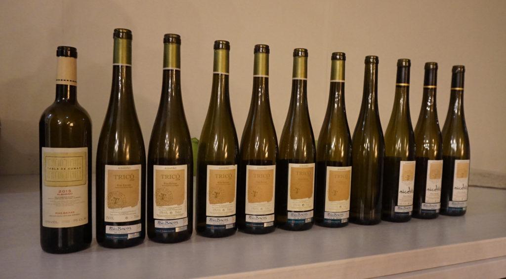 Cata vertical de vinos Tricó
