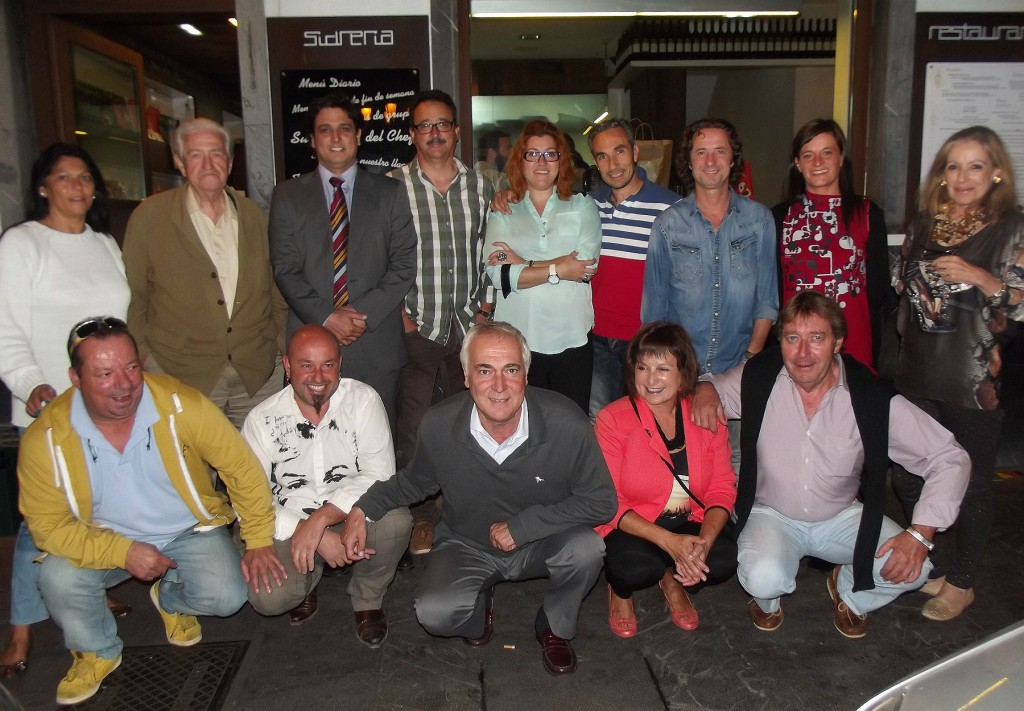 Participantes del II Campeonato de Chefs Ven i Ven