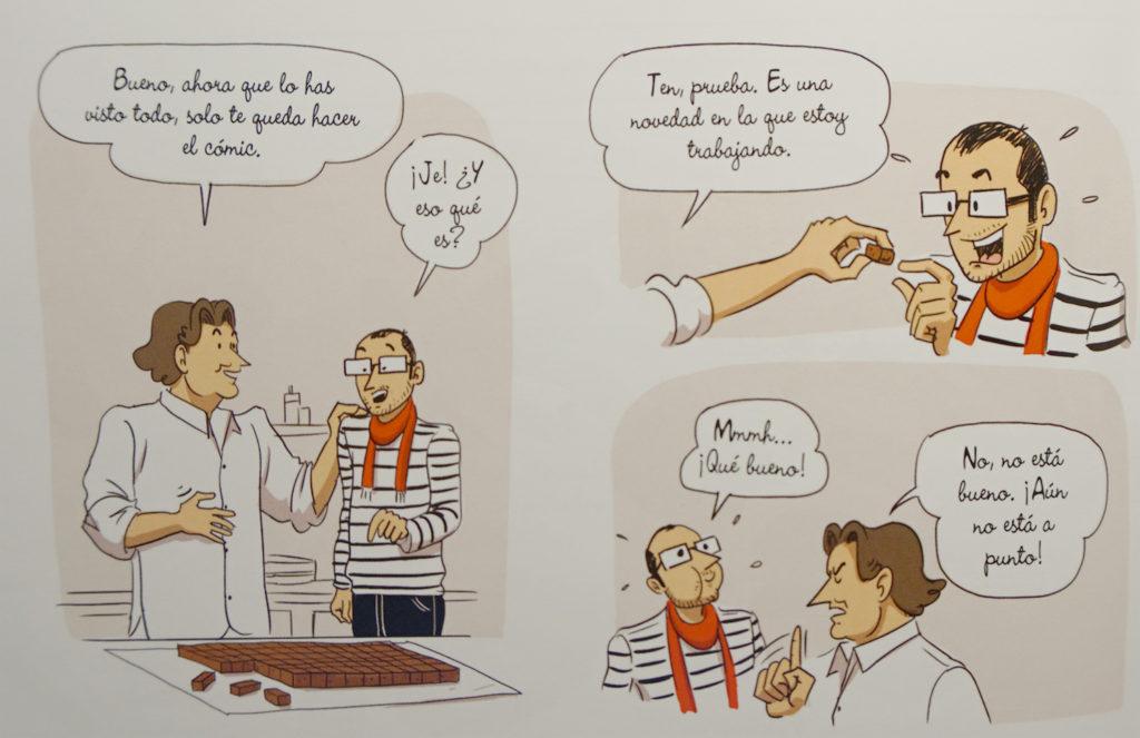 Los secretos del chocolate de Frankie Alarcon