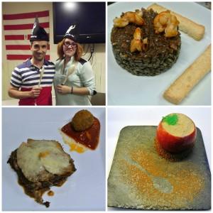 José y Laura - Ganadores del II Campeonato de Chefs Ven i Ven