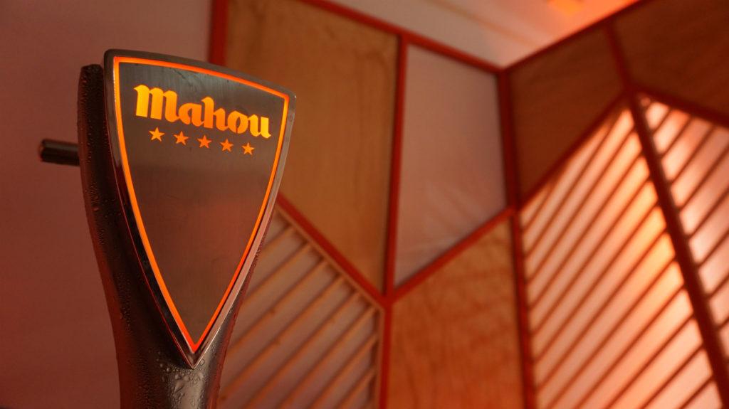 Grifo de cerveza patentado por Mahou