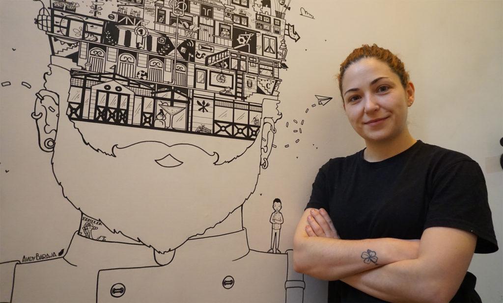Liset Rubio, jefa de cocina en Secreto a Voces