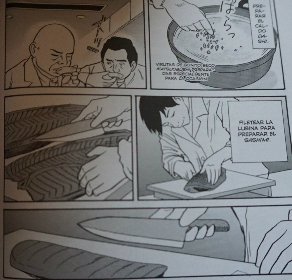 Página del Comic Mibu - El Bulli