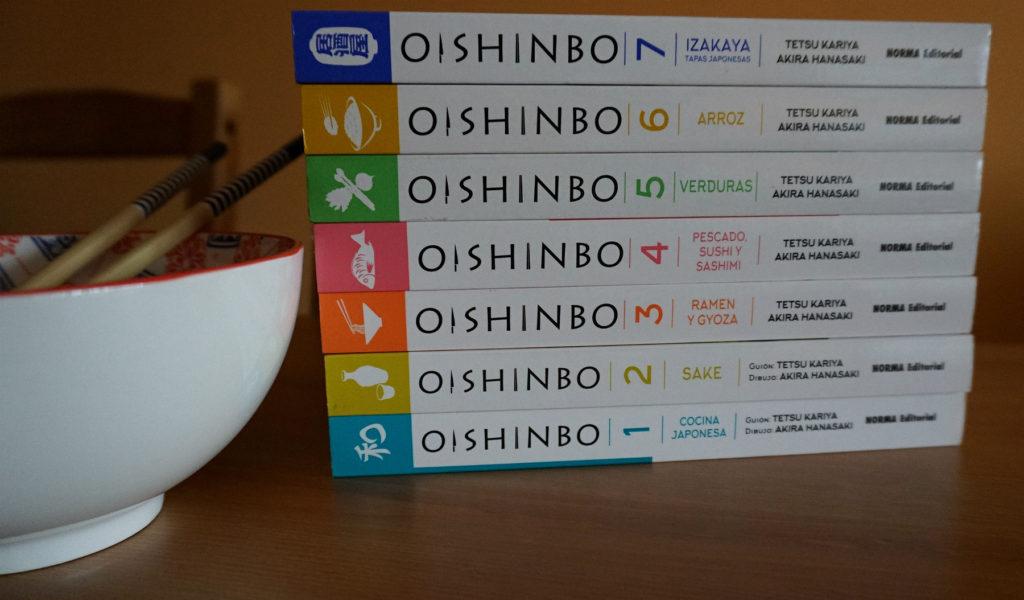 Tomos de Oishinbo en su edición en español