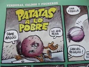Estoy hecho un cocinicas: Patatas a lo pobre