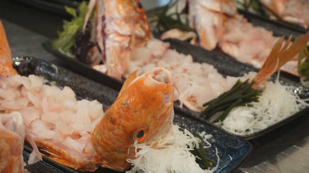 Lomos de salmonete por Ricardo Sanz