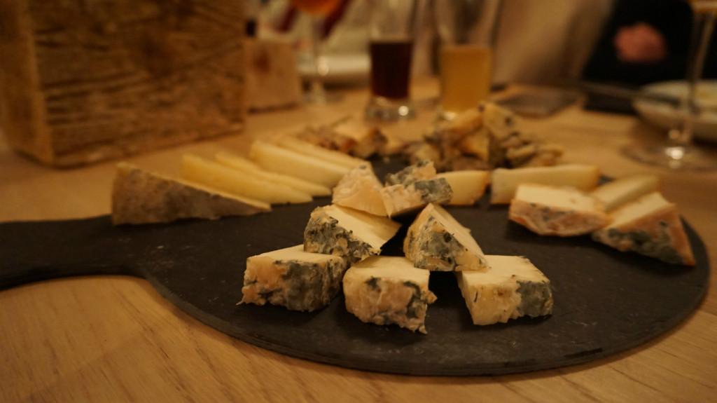 Tabla de quesos Siete Lobas