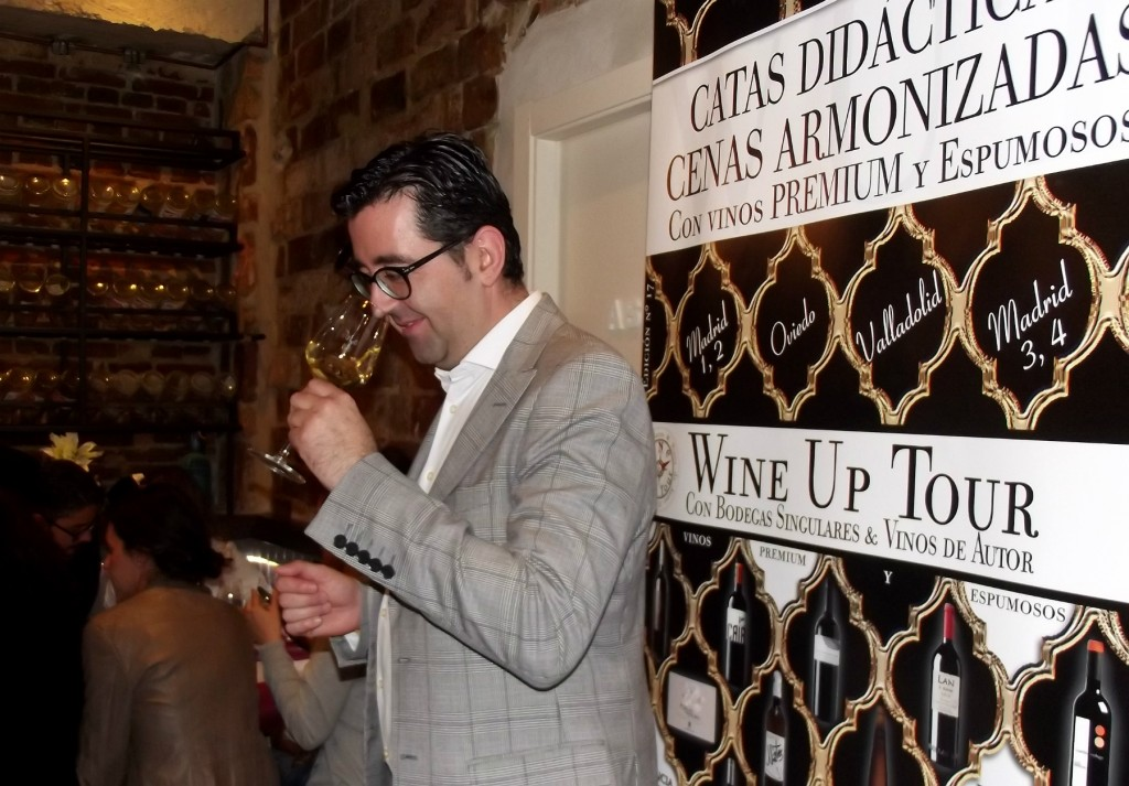 Joaquín Parra de Wine Up Tour