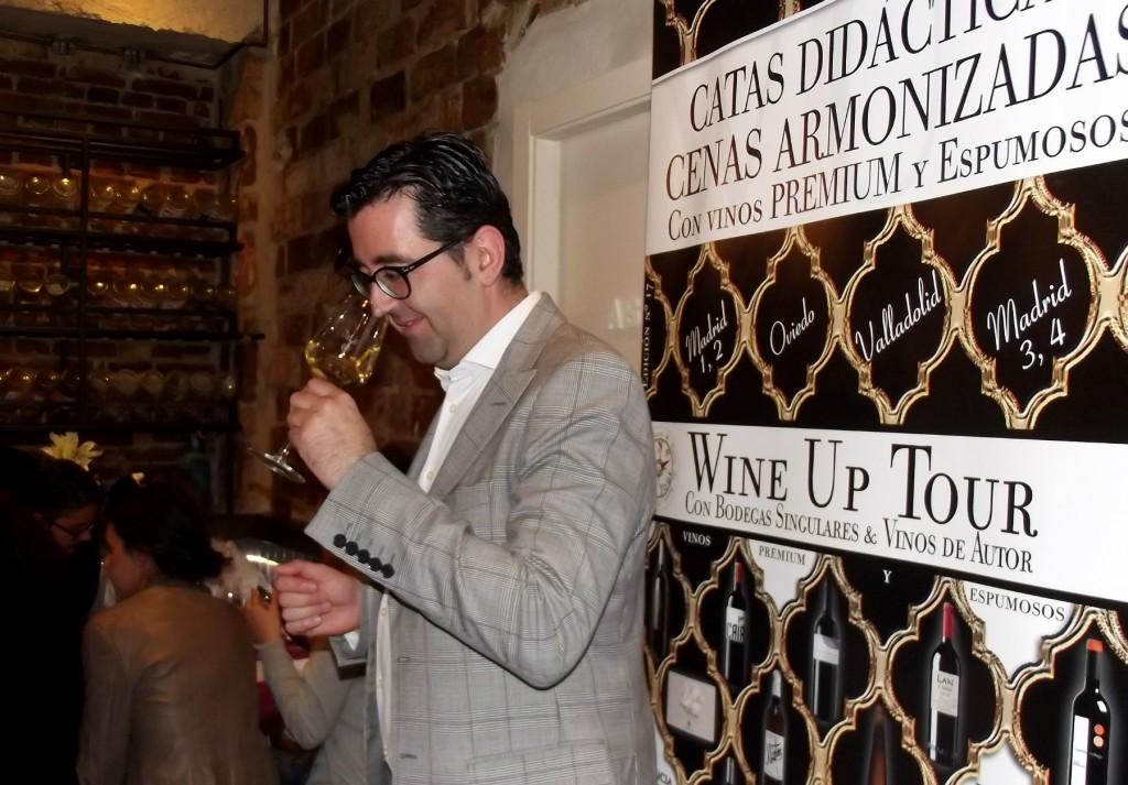 Joaquín Parra de Wine Up Tour